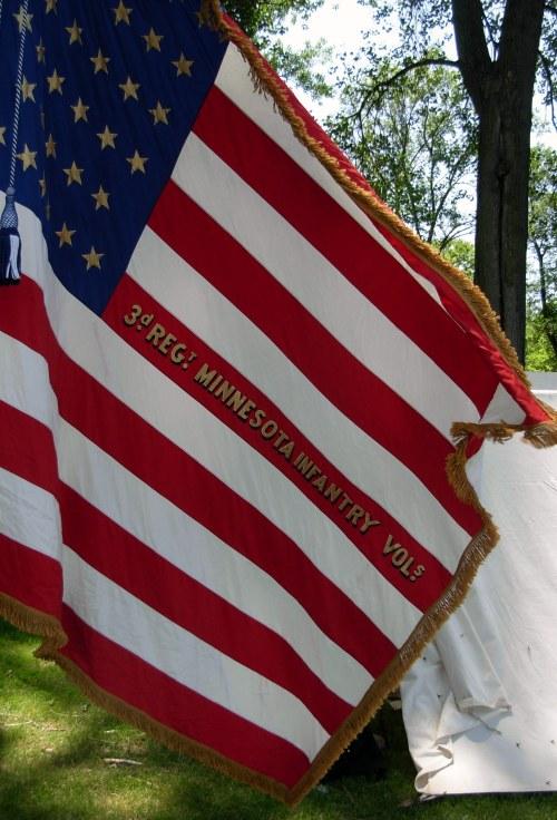 3rdRegMinnInfantryUSflag